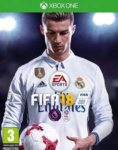 Fifa 18 - Xbox One / PS4. £44.99 (with code) @ Tesco