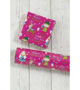 great deal xmas girly paper - £1.99 @ Ace.co.uk (£4.99 P&P)