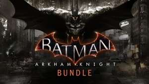 Batman Arkham Knight + all DLC 75% off - £7.49 @ Bundlestars