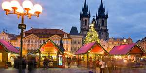 Prague Christmas Markets - London, Edinburgh or Manchester Departures from £89pp  in December - Gogroopie