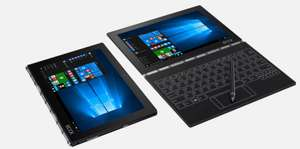 £100 off Android & Windows Lenovo Yoga Book - Free Delivery £349.99 at Lenovo UK