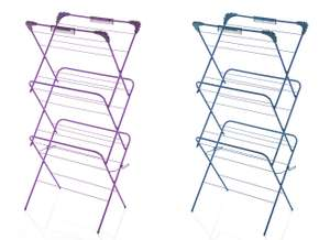 3 Tier Airer in Purple or Teal for £4 @ Wilko (Free C&C)