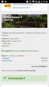 From Newcastle: Family of 4 August 2018 School Holiday 1 Week All Inclusive £381.72pp (whole family £1526.89) @ Expedia
