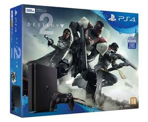 PS4 500gb with Destiny 2 - Tesco for £204.99