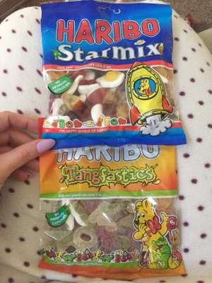 Bigger 250g bags of Haribo tangfastics and Starmix jelly sweets for 79p in Heron (they sell smaller bags for £1 so check)