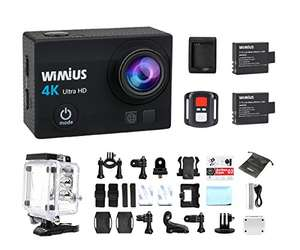 Wimius Q3 cam £33.65. Lightning Deal Sold by WiMiUS Authorized-UK and Fulfilled by Amazon