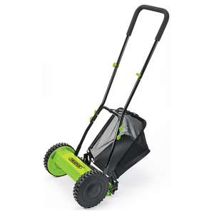 Draper mechanical lawn mower - £29.99 free click and collect or £33.94 delivered from Robert Dyas online - ENVIRONMENTALLY FRIENDLY!!!