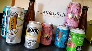 10 Craft Beers DELIVERED for only £14. 75@ Flavourly with possible £5.25 cashback with TCB