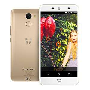 Wileyfox Swift 2X in Gold & Amazon Dot (White) bundle @ Amazon £209.99