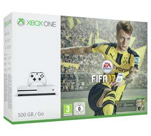 Xbox One S FIFA 17 Console Bundle (500GB)  with code TDX-TWHJ​ £174.99 - Tesco (+free d/l Forza Horizon 3))
