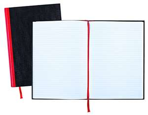 Misprice - Black n Red Book Casebound 90gsm Ruled 192pp A4 [Pack of 5] £11.13 @ Amazon sold by Amazon US.