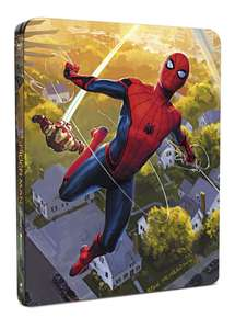 Spider-Man Homecoming 4K + 3D + 2D + Bonus Blu Ray Steelbook Set £24.99 Pre Order @ HMV