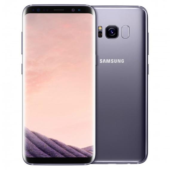 Samsung Galaxy S8 G950FD 4G 64GB Dual Sim SIM FREE/ UNLOCKED - Orchid Gray £478.20 @ eglobal