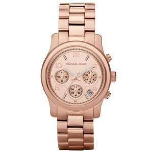 Selection of Michael Kors Ladies watches / Chronographs from £80.99 delivered using code @ JB Watches