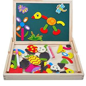 Kids Magnetic Drawing Board - £7.99 (Prime) +delivery non Prime @Amazon