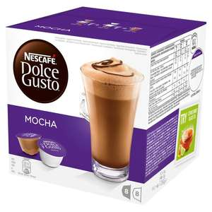 Dolce Gusto Mocha and Chococino reduced to £3 @ Morrisons
