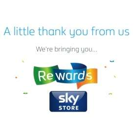British Gas Rewards - Sky Voucher again