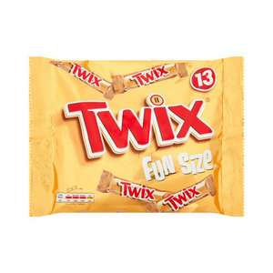 TWIX FUN SIZE 13 PACK for £1 at Poundstretcher