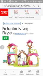 Enchantimal dolls theme set £24.49 @ Argos (price changes when added to basket)