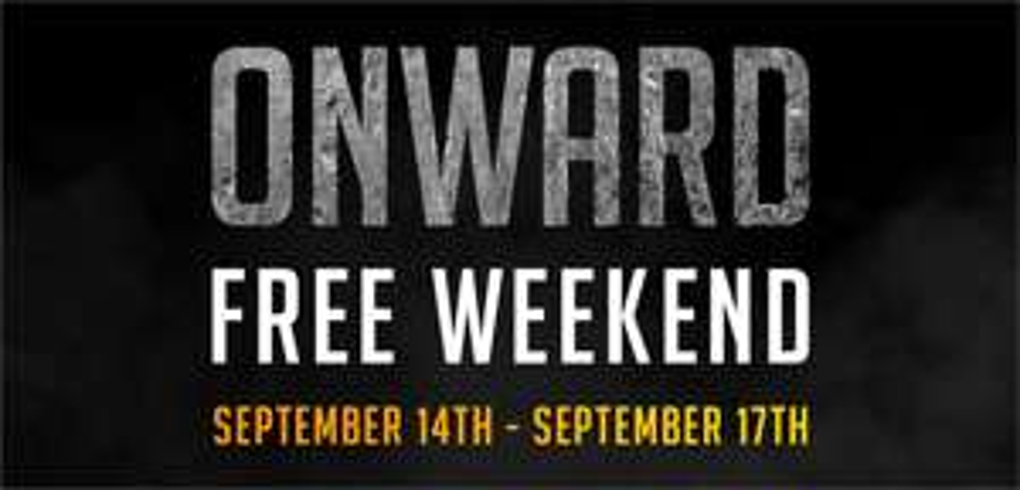 [steam][VR] Onward Free Weekend 14th-17th September