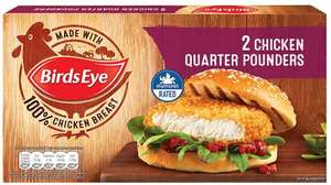 Birds Eye 2 Chicken Quarter Pounders (227g) was £1.69 now £1.00 @ Iceland and Asda