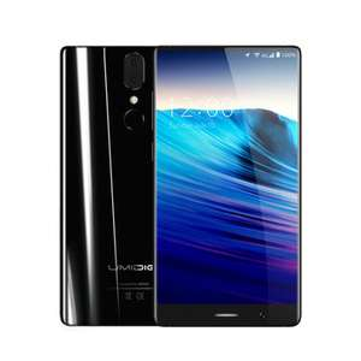 UMIDIGI Crystal 5.5 inch 4GB RAM 64GB ROM MTK6750T Octa core 4G Smartphone Bezel less £115.93 @ Banggood