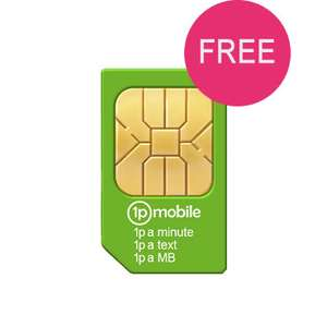 1p Mobile - Everything 1p - Per Min/SMS/Mb - Ideal Pay-as-you-go