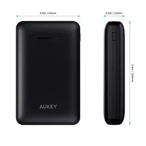 AUKEY Power Bank 10000mAh with 2.1A Dual USB Output was £19.99 now £13.99 with Voucher / £17.98 non prime + 2 years warranty Sold by yueying and Fulfilled by Amazon