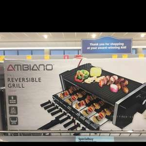 Reversible 3 in 1 Grill £29.99 from Aldi