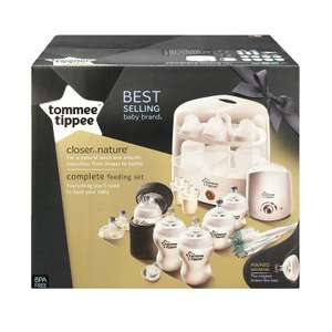 Tommee Tippee complete feeding set £30 @ Asda instore Hull