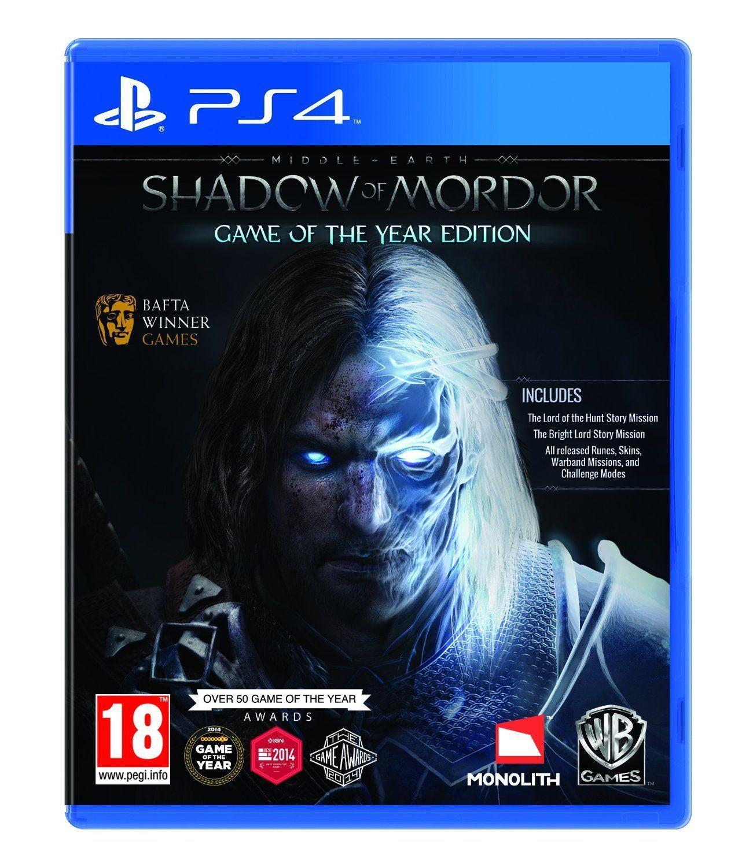Middle Earth Shadow of mordor GOTY edition (PS4) £9.85 @ ebay via bossdeals