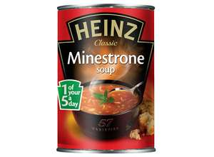 Heinz soup tins 2 for £1 at Tesco extra.