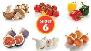 Aldi Super 6 45p and 65p 14th - 27th September.