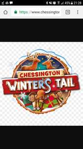 Chessington Winter's Tail tickets - zoo, sealife centre, gruffalo ride and Santa meeting £15 per person early bird offer PLUS FREE NOW TV PASS