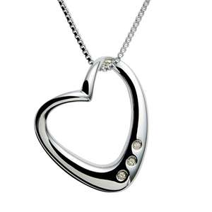 Beautiful HOT DIAMOND Silver and Diamond Pendant £50.66 @ Amazon RRP£90