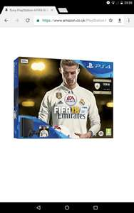 Ps4 500GB with Fifa 18 Ronaldo Edition from Amazon - £204 (with code)