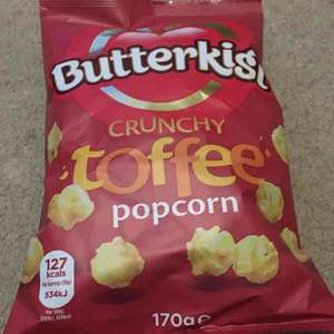 Butterkist popcorn halfprice at tesco £0.74