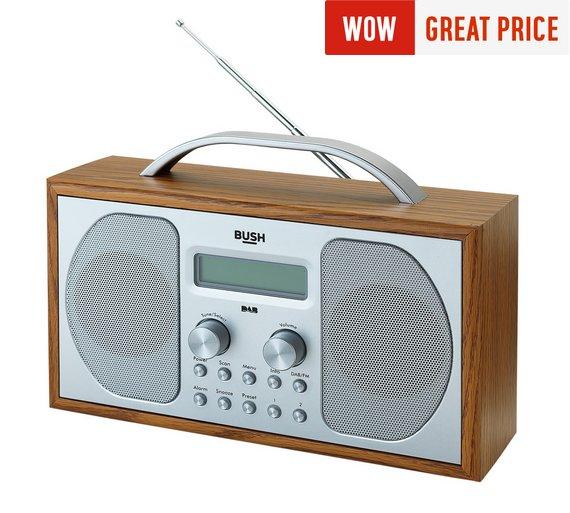 Bush Wooden DAB Radio £19.99 (free c+c) @ Argos