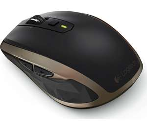 LOGITECH MX Anywhere 2 Wireless Mouse - Black & Dark Gold - Currys Clearance £29.97