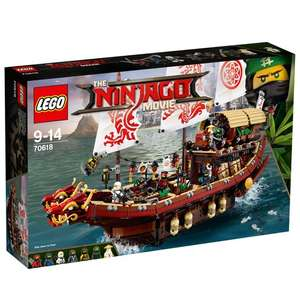 LEGO 70618 Ninjago Movie Destiny's Bounty £74.99 - smyths toys