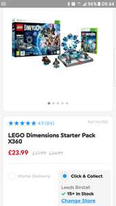 Lego Dimensions Starter Pack Xbox 360 - £23.99 @ Smyths Toys
