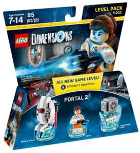 LEGO Dimensions Portal 2 Level Pack £7.50 (plus £3.95 delivery) @ Lego.com
