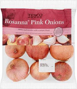 Rosanna Pink Onions 1Kg now 49p @ Tesco