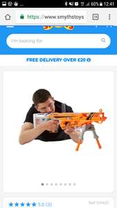 Nerf N-Strike Elite AccuStrike RaptorStrike SMYTHS SALE 14/9 - 24/9 IN STORE ONLY  £39.99 RRP £59.99