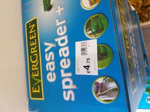 Evergreen Easy Spreader Plus £4.75 @ wilko instore
