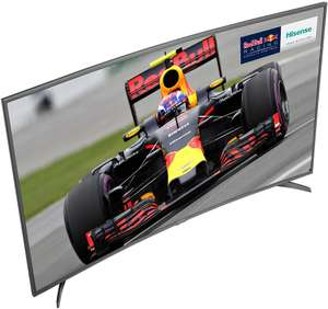 Hisense H55M6600 55 Inch Curved 4K Ultra HD Smart TV w/ HDR £44.99 @ Argos