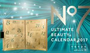 No 7 Ultimate Beauty Advent Calendar Waiting List is Live @ Boots