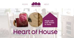 Argos Heart of House furniture - buy one get one half price plus 20% off £150 spend