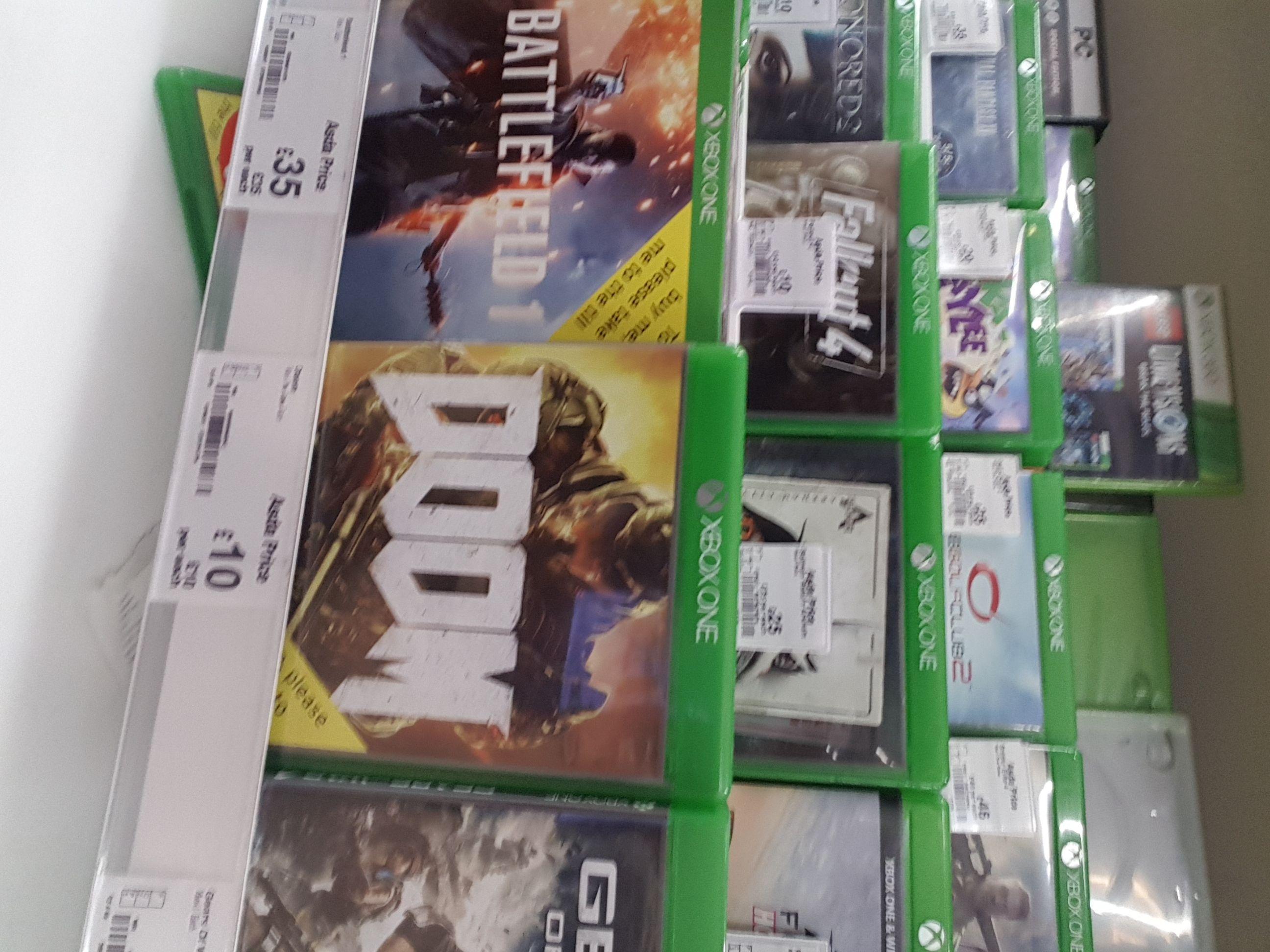 Doom,  fallout 4 & dishonored 2 @ £10 each @ ASDA - Bilton