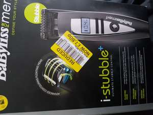 Babyliss for men i-stubble plus - £7.50 (instore only tesco sutton coldfield )